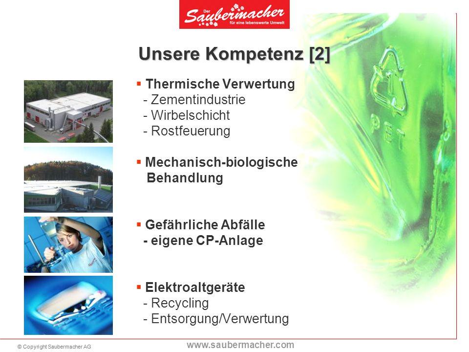 Unsere Kompetenz [2] Thermische Verwertung - Zementindustrie - Wirbelschicht. - Rostfeuerung.
